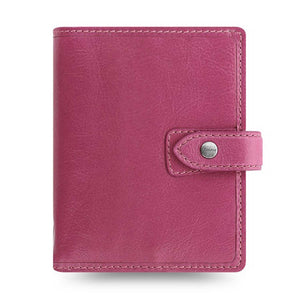 Filofax Malden Pocket Fuchsia Leather Organizer Agenda Calendars 2020