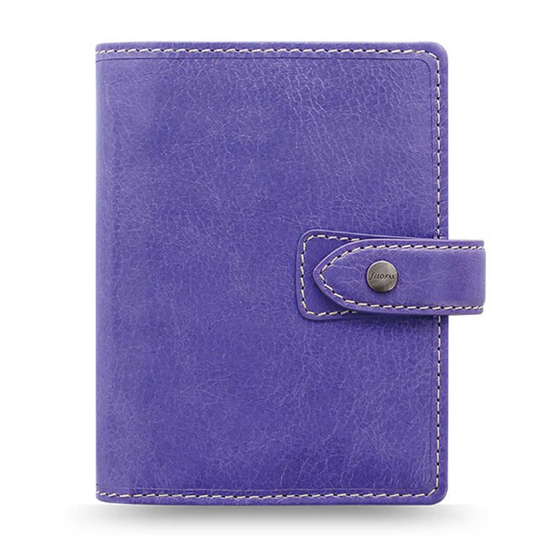 Filofax Malden Pocket Iris Leather Organizer Agenda Calendars 2020