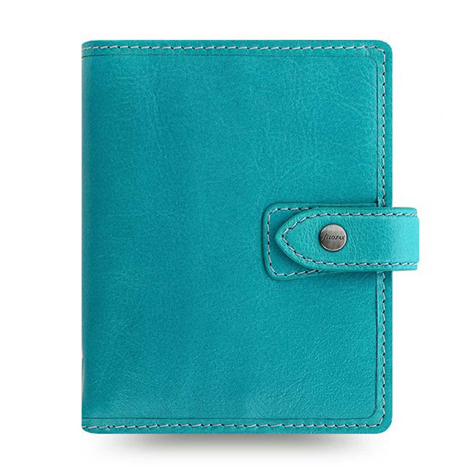 Filofax Malden Pocket Kingfisher Leather Organizer Agenda Calendars 2020