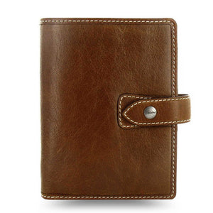 Filofax Malden Pocket Ochre Leather Organizer Agenda Calendars 2020