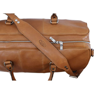 Venezia Leather Travel Duffle Bag 2.0