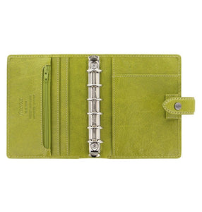 Filofax Malden Pocket Pear Leather Organizer Agenda Calendars 2020 Inside View