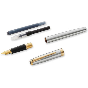 Parker Sonnet Fountain Pen Stainless Steel Fine or Medium Nib GT - Parts
