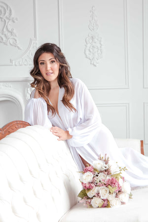 Chiffon Bridal Robes