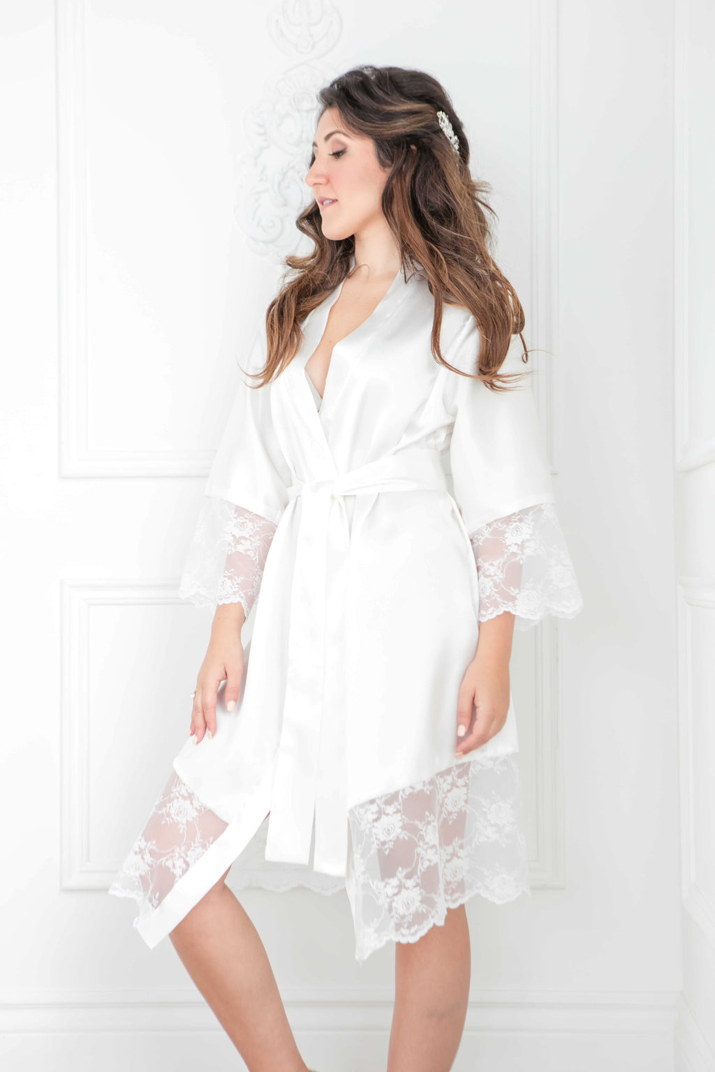 The Hannah Robe | Knee Length