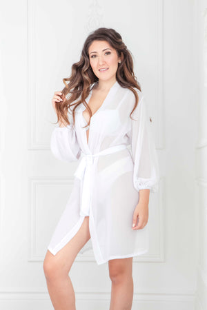 The Natasha Robe | Knee Length