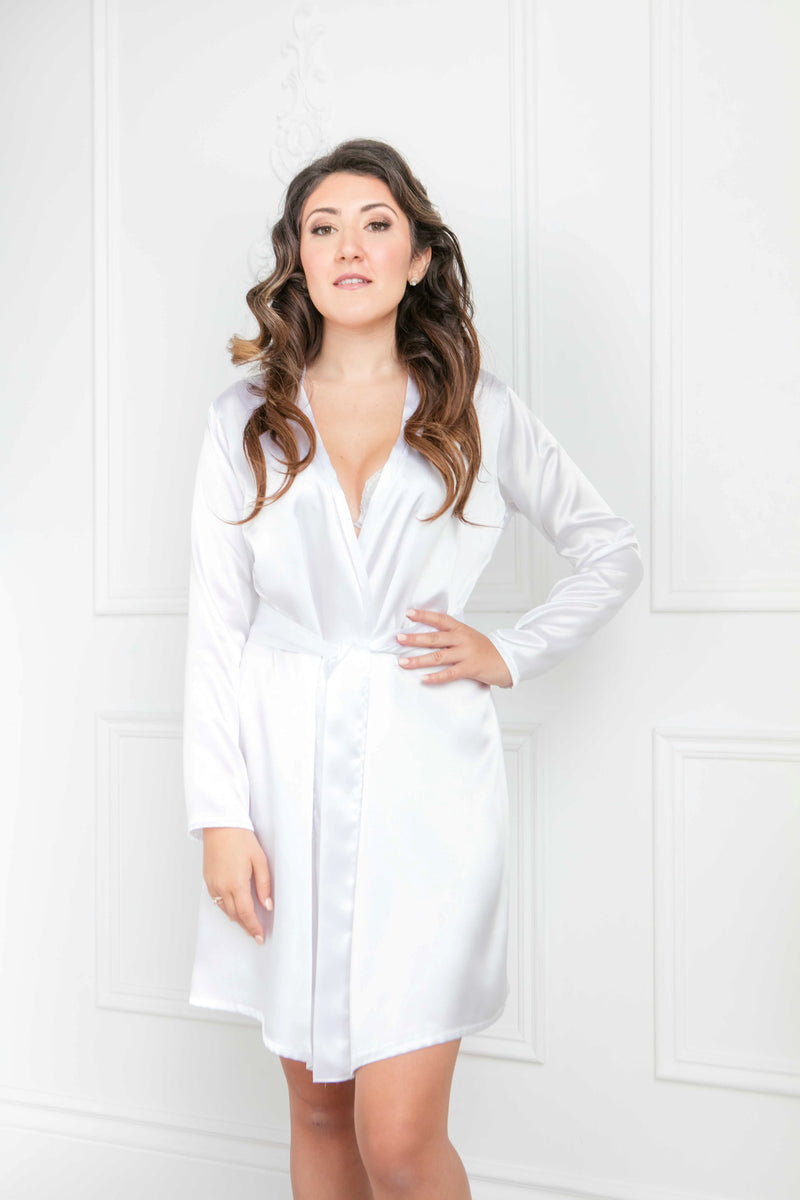 The Krista Robe | Knee Length