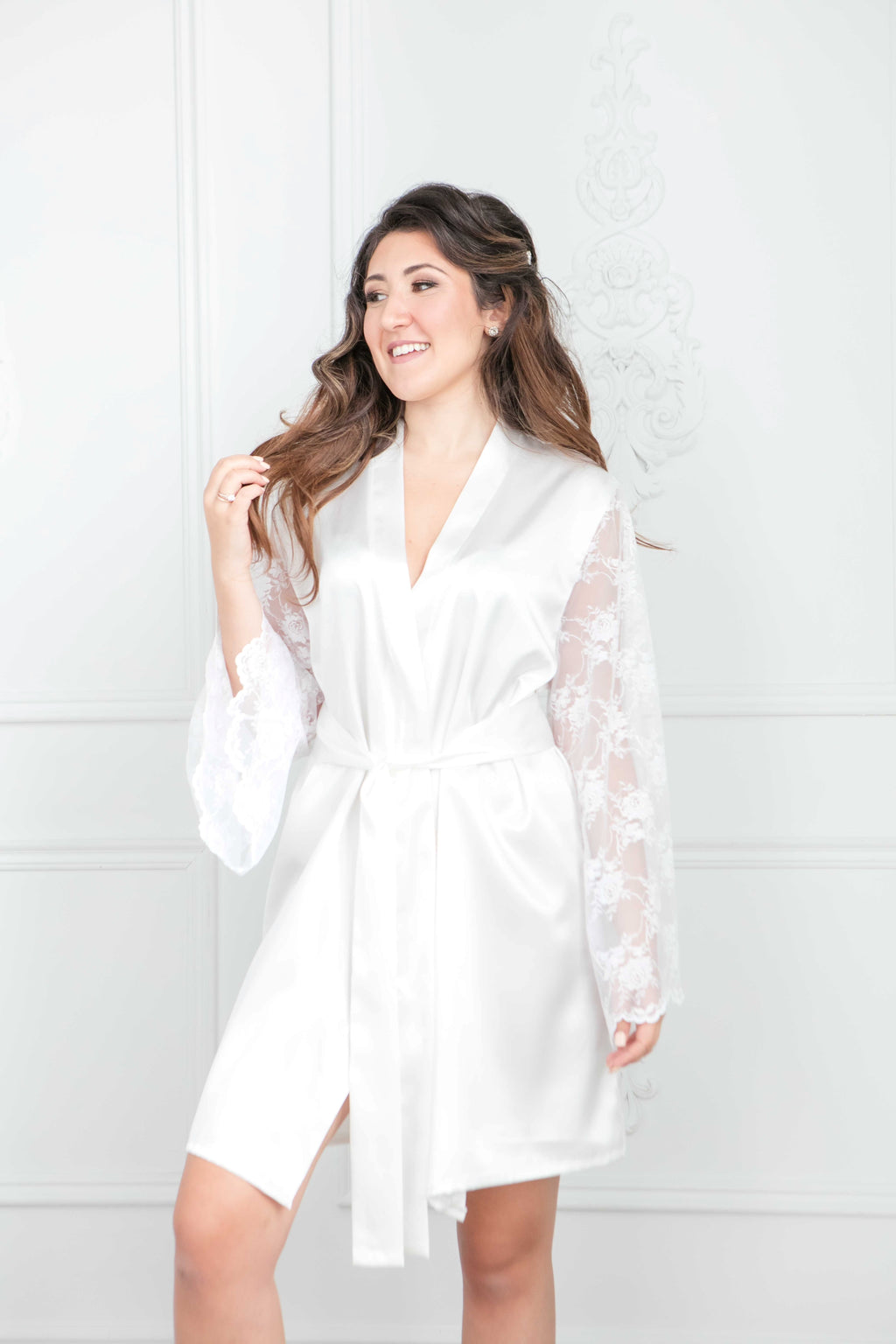 The Lia Robe | Knee Length