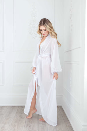 The Natasha Robe | Floor Length