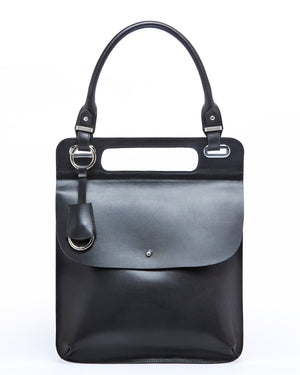 THE LIBER PORTFOLIO BAG- graphite