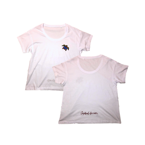 'Vagabond' T-Shirt Women - White