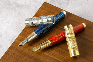 limited edition fountain pens from Montegrappa, Aurora, Esterbrook and Pininfarina.