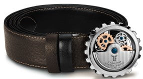 "BRO-SS99 - TF ""Rotor"" Belt - Stainless Steel Shiny, rotating balance wheel"
