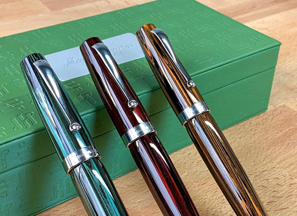 Montegrappa Miya Ebonite - US Exclusive!