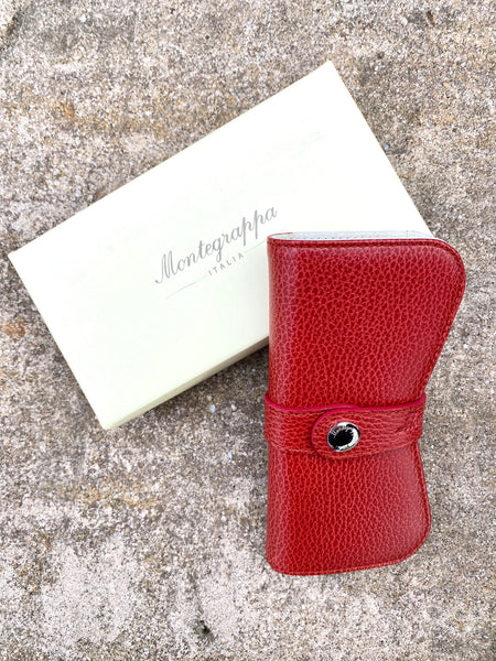 Montegrappa Italian Leather Double Pen Case
