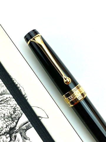Aurora Optima Fountain Pen - Black