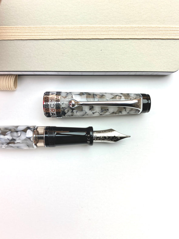 Aurora Optima Fountain Pen - Grey