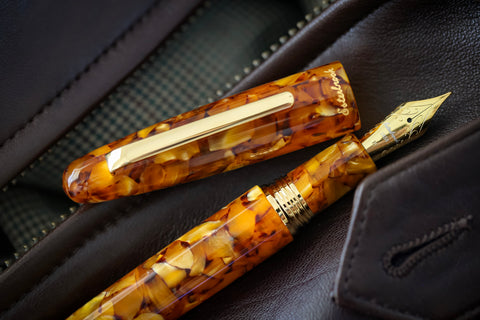 Esterbrook Estie Honeycomb OS Fountain Pen - Pen Show Sample