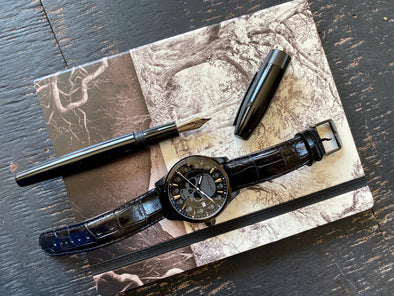 Montegrappa Skull watch