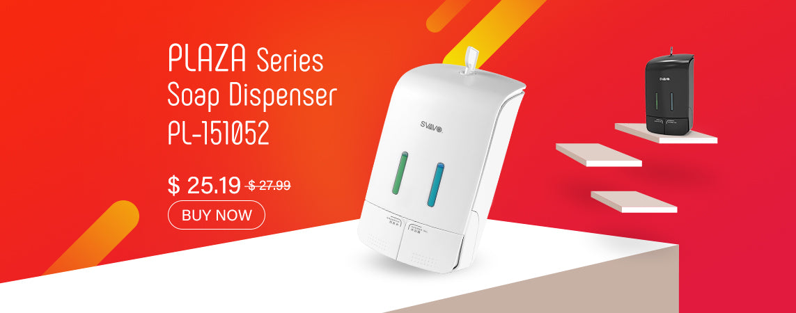 plaza series manual soap dispenser