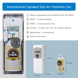 Automatic Air Freshener Dispenser with LCD Screen