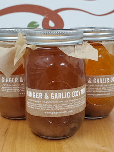 Garlic Ginger Oxymel