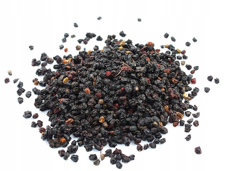 Elderberry Whole, Dried, C/S,  1lb
