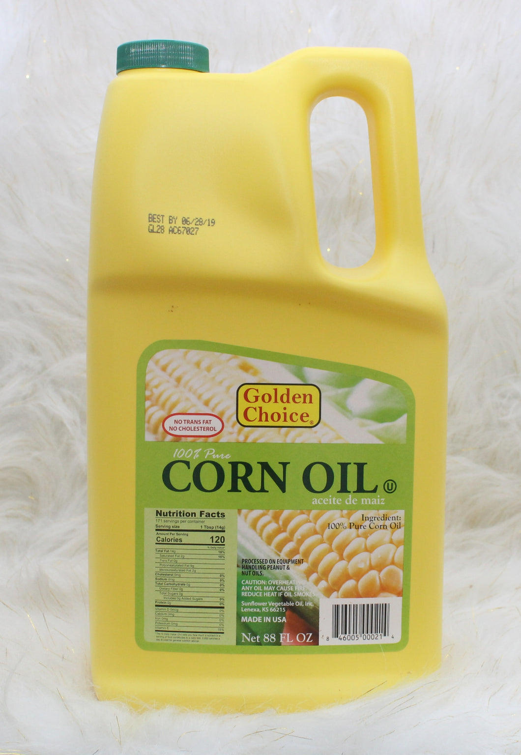 GOLDEN CHOICE| Corn Oil