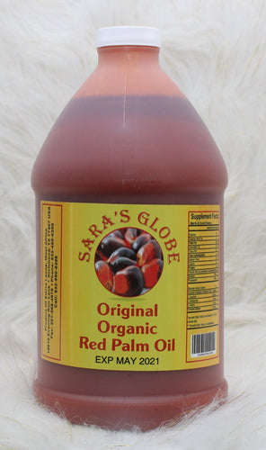 SARA'S GLODE| Original Organic Red Palm Oil