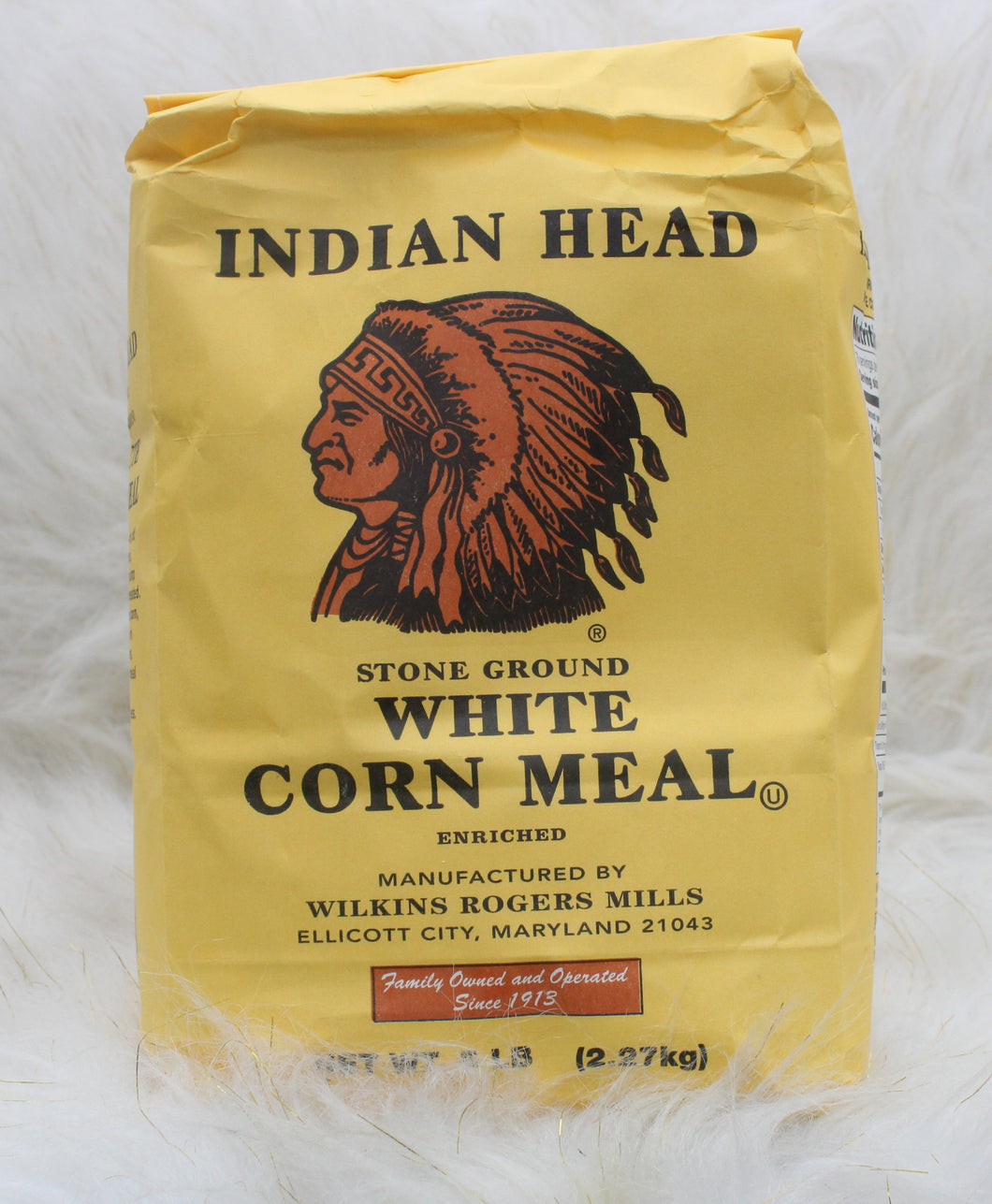 INDIAN HEAD| White Corn Meal