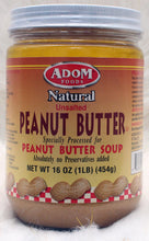 Load image into Gallery viewer, ADOM| Natural Peanut Butter