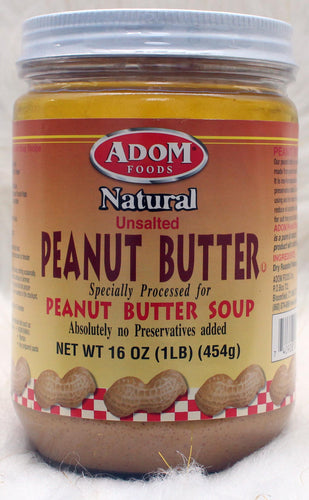 ADOM| Natural Peanut Butter