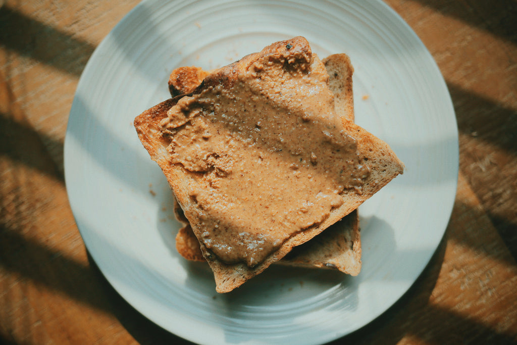 Rose's Almond Butter on Toast