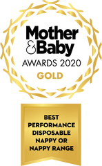 best performance nappy mother&baby awards 2020 bamaboo gold medal