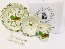 Bamboo dinner set - Teresa the Sea Turtle