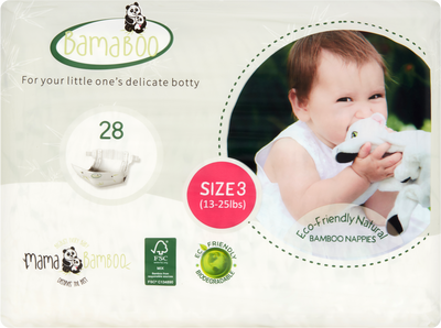 Bamboo Eco-Nappies