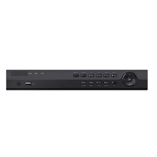 8 Channel 4k NVR with Built in 8 PoE ports & 1 LAN port | ONVIF Capable | 2 HDD Bays