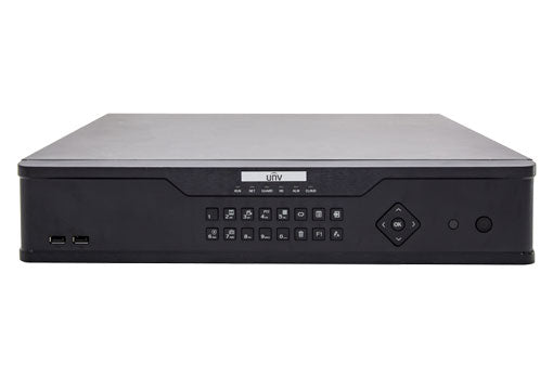Uniview NVR304-32EP-B 32Channel 4k NVR with Built in 16 PoE ports | 4 SATA | H.265 | Mobile Viewing Capability | ONVIF