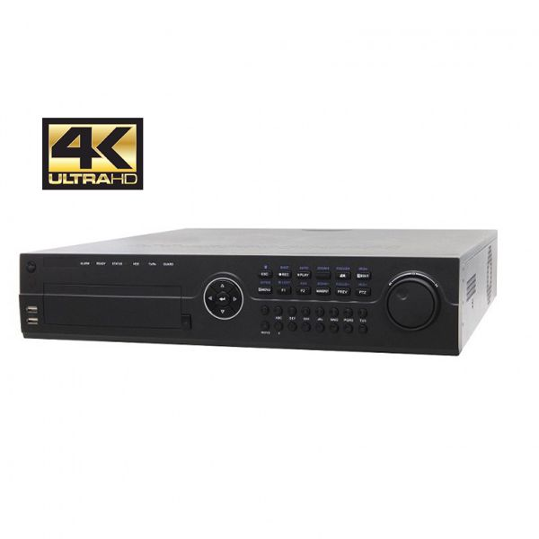 64 Channel 4K NVR with 2 LAN ports| ONVIF Capable | Requires External PoE Switch