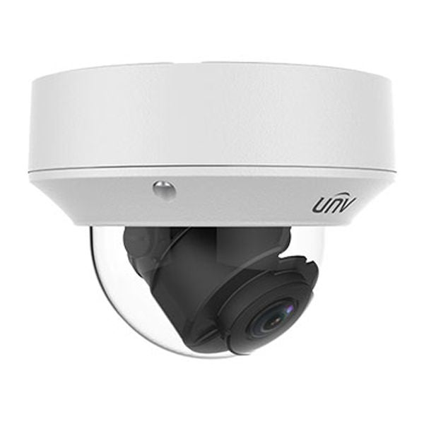 UNV 4MP IP WDR Vandal-Resistant IR Dome Security Camera - 2.8~12mm Varifocal Lens (IPC3234SR3-DVZ28)