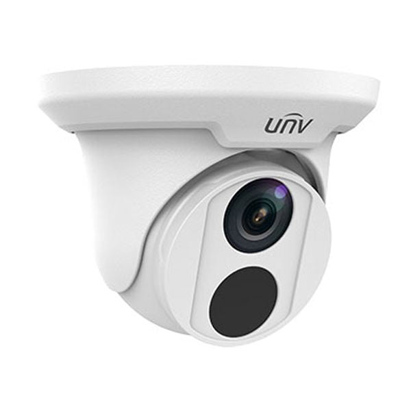 UNV 2MP IP Turret IR Security Camera - 2.8mm Fixed Lens (IPC3612ER3-PF28-C)