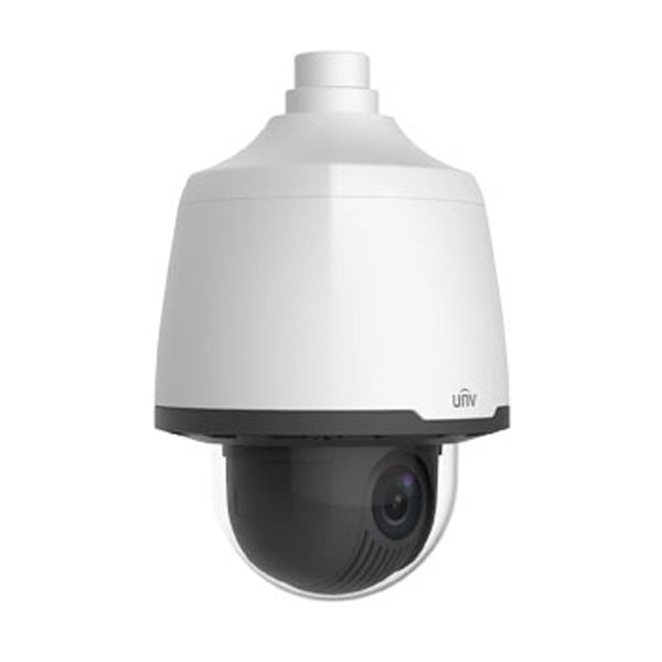UNV FullHD 1080P 33x Starlight Weatherproof PTZ IP Dome Security Camera with a 4.5 ~ 148.5mm Automatic Focusing and Motorized Zoom Lens (IPC6222E-X33UP)