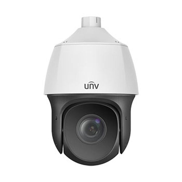 UNV FullHD 1080P Weatherproof IR PTZ IP Dome Security Camera with a 5.2mm Automatic Focusing and Motorized Zoom Lens (IPC6322SR-X22P-C)