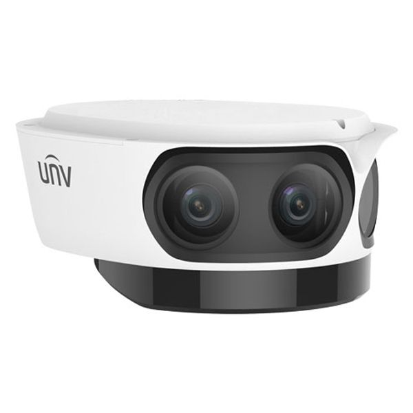 UNV 4K Ultra HD IP Multi-Sensor Panoramic Security Camera with 4x4.2mm Fixed Lens (IPC8542ER5-DUG)