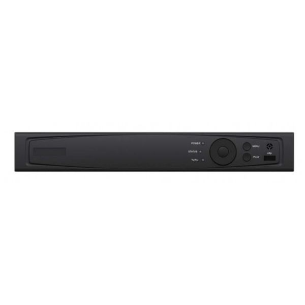 1080p 4 Channel Tribrid Digital Video Recorder | Ability to add 1 IP camera | Supports 1 Hard Drive