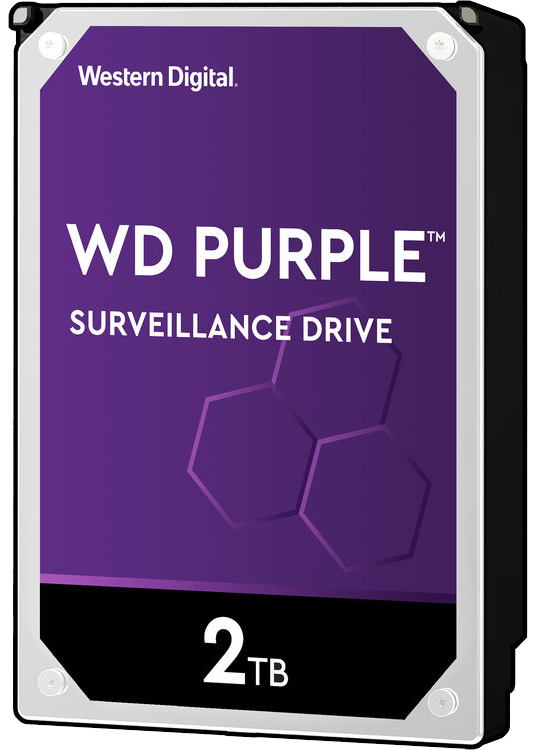 2 TB Western Digital Purple Surveillance Hard Drive