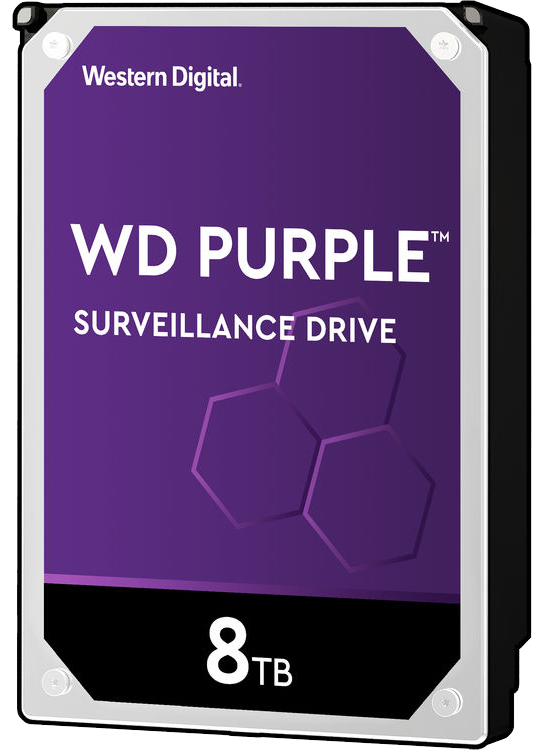 8 TB Western Digital Purple Surveillance Hard Drive
