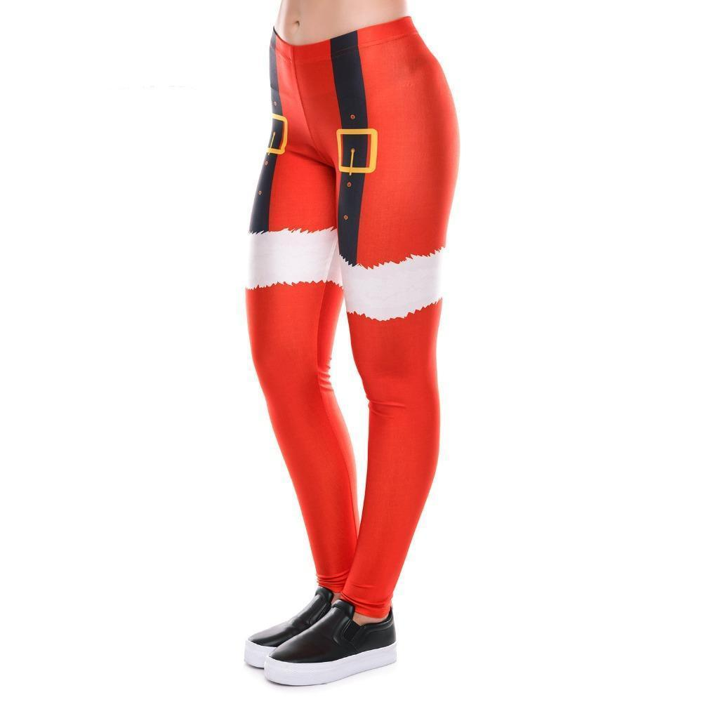 Crazy Christmas Leggings