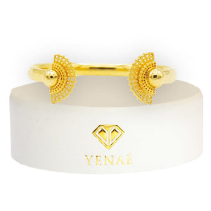 Yenaé 14K Gold Plated Tsirur Bracelet in a Gift-ready Package