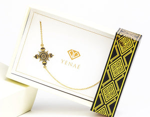 Lalibela Cross- Antique 14K Gold Plated